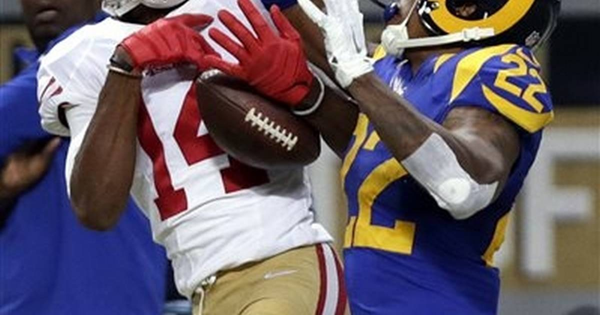 9ea0dbb14 Gurley leads way with 133 yards as Rams handle 49ers 27-6