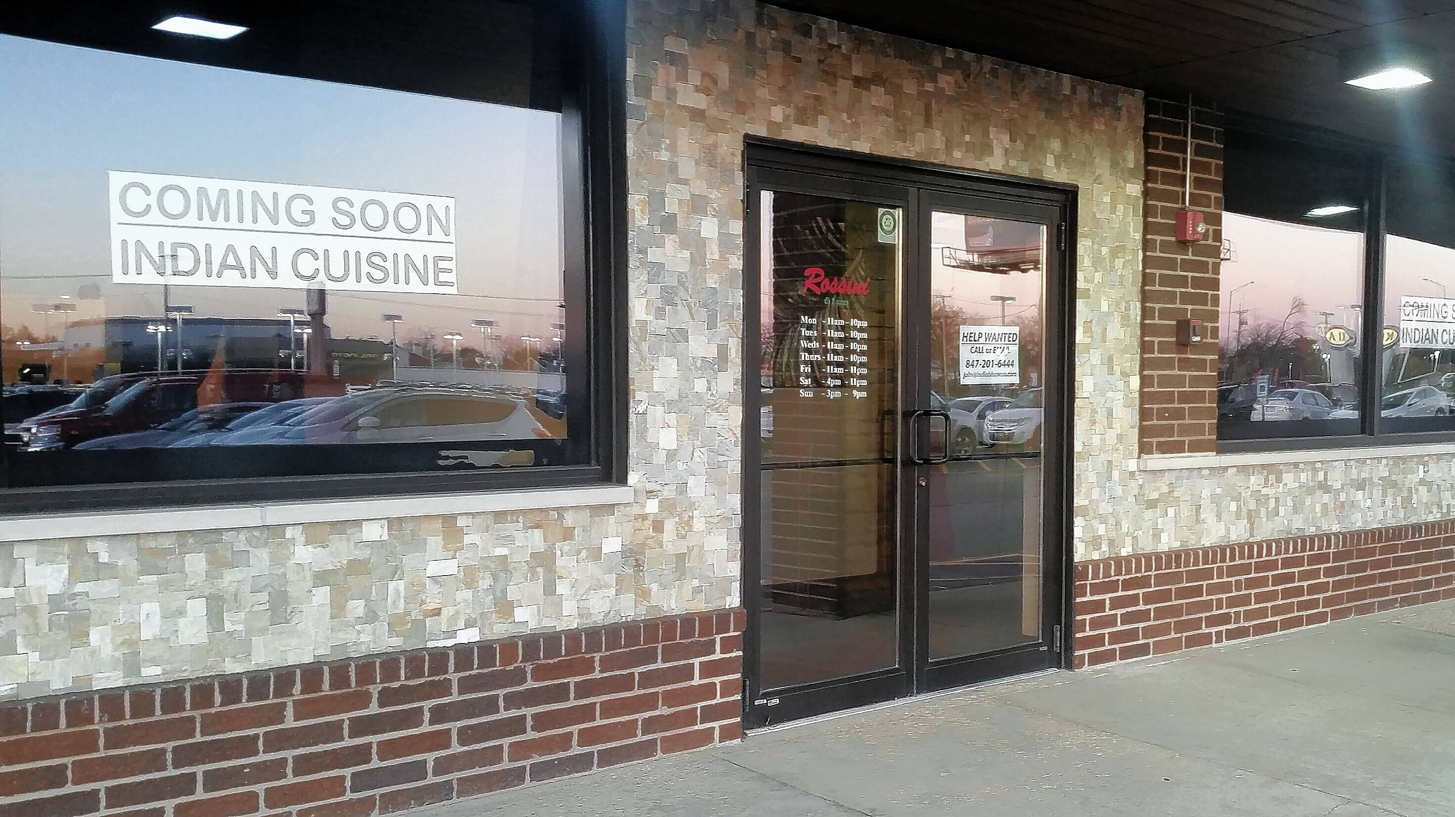 A new Indian restaurant called India Bhawan is set to open at 1280 E. Dundee Road in Palatine, perhaps as soon as this weekend. The restaurant proposal won the approval of the Palatine village council Monday.