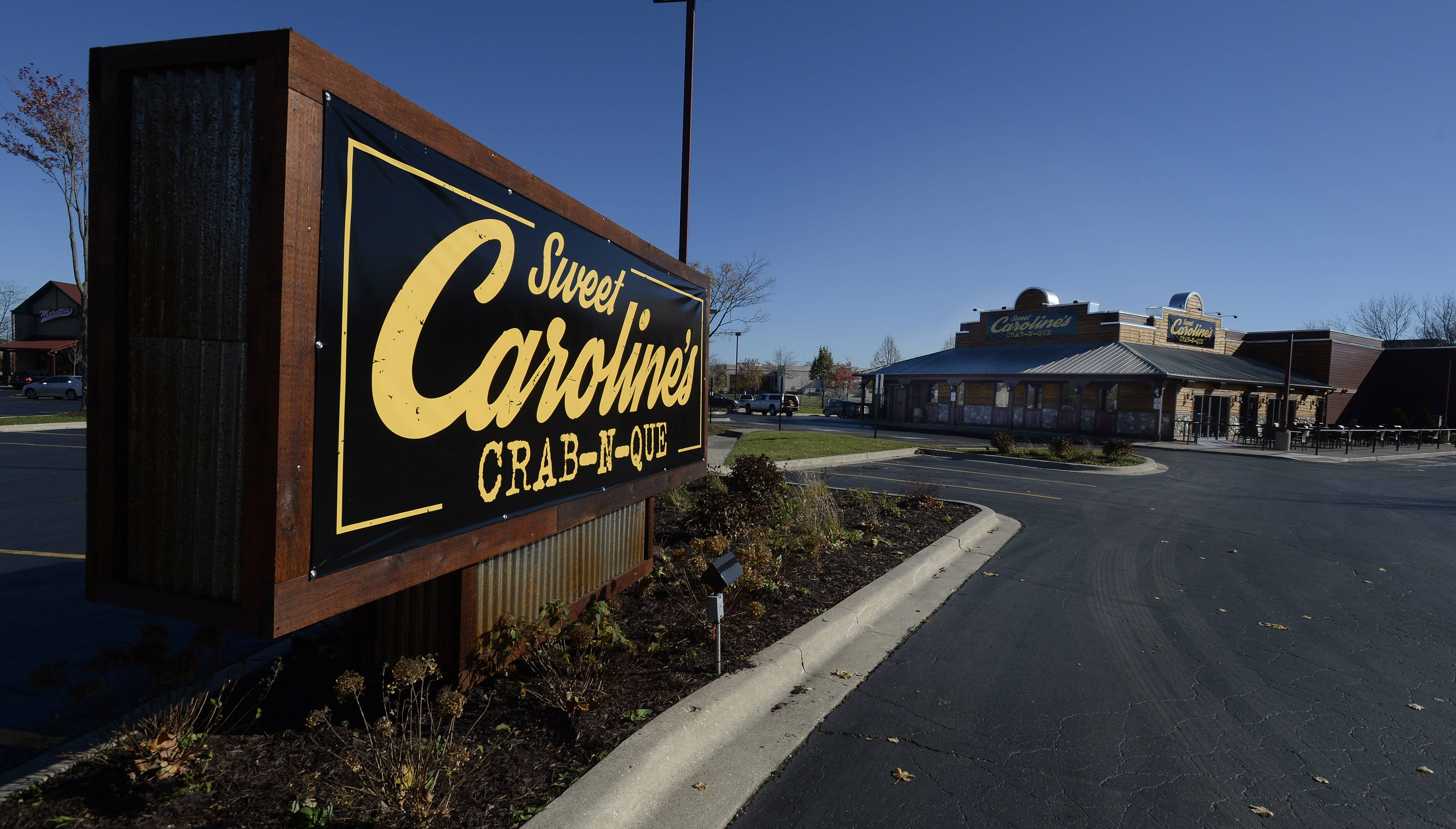 Sweet Caroline's Crab-N-Que will be opening Friday in Hoffman Estates.