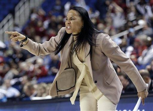 Staley wants No. 2 South Carolina to forget Final 4 run