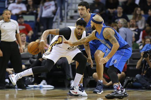 Pelicans star Anthony Davis (hip injury) sits out vs Hawks