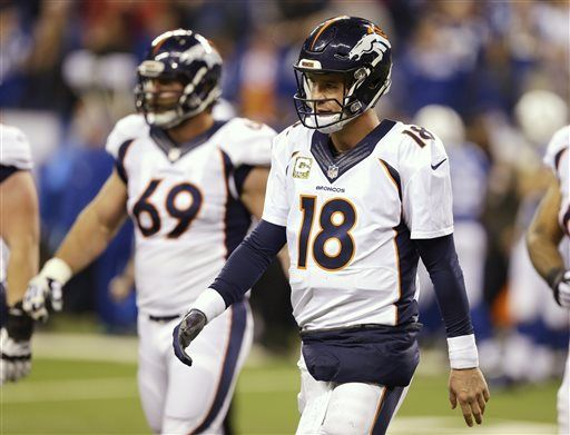 brand new dc3ff 19c7f Chiefs once again aim to slow down Manning in trip to Denver