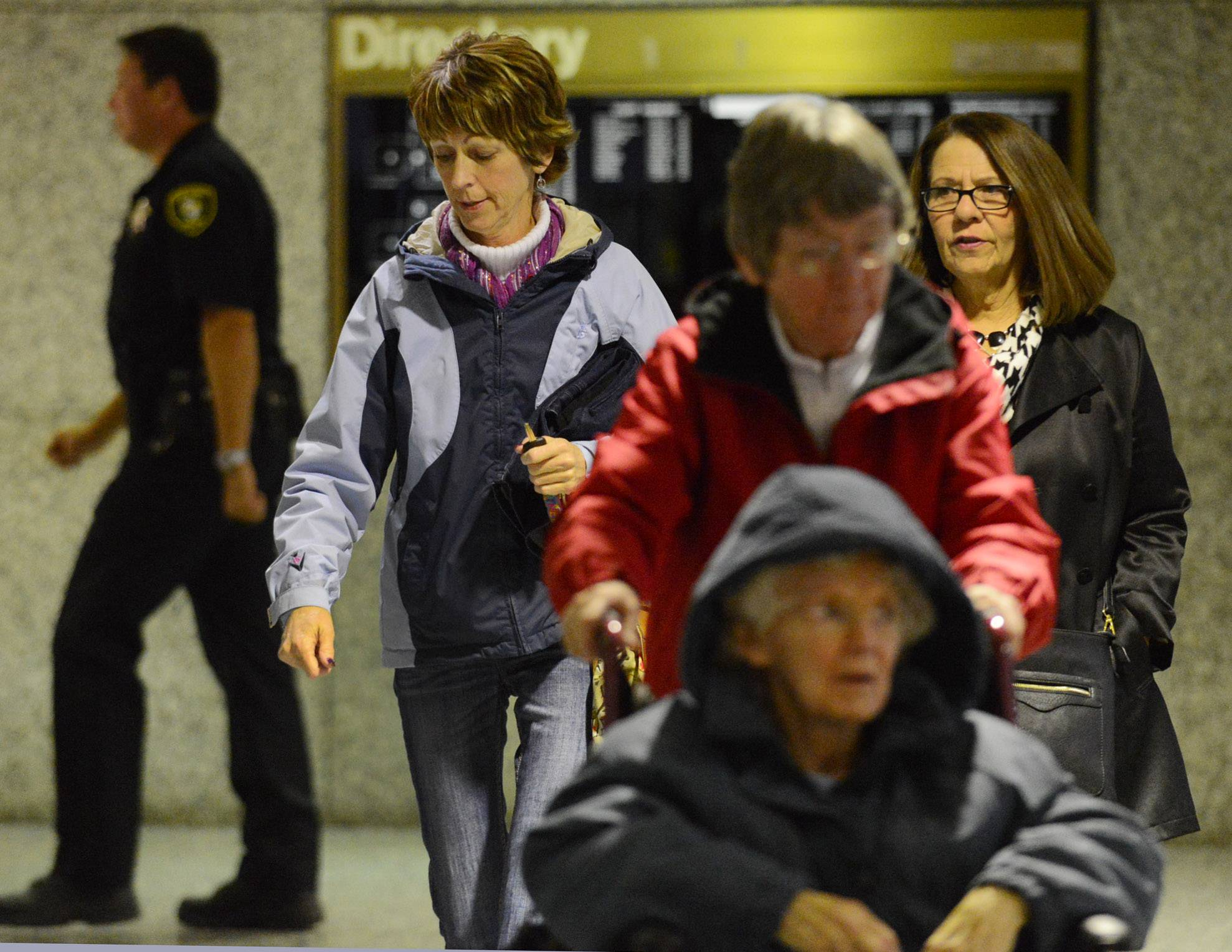 Bonnie Liltz, Left, Leaves The Rolling Meadows Courthouse With Family And  Friends.