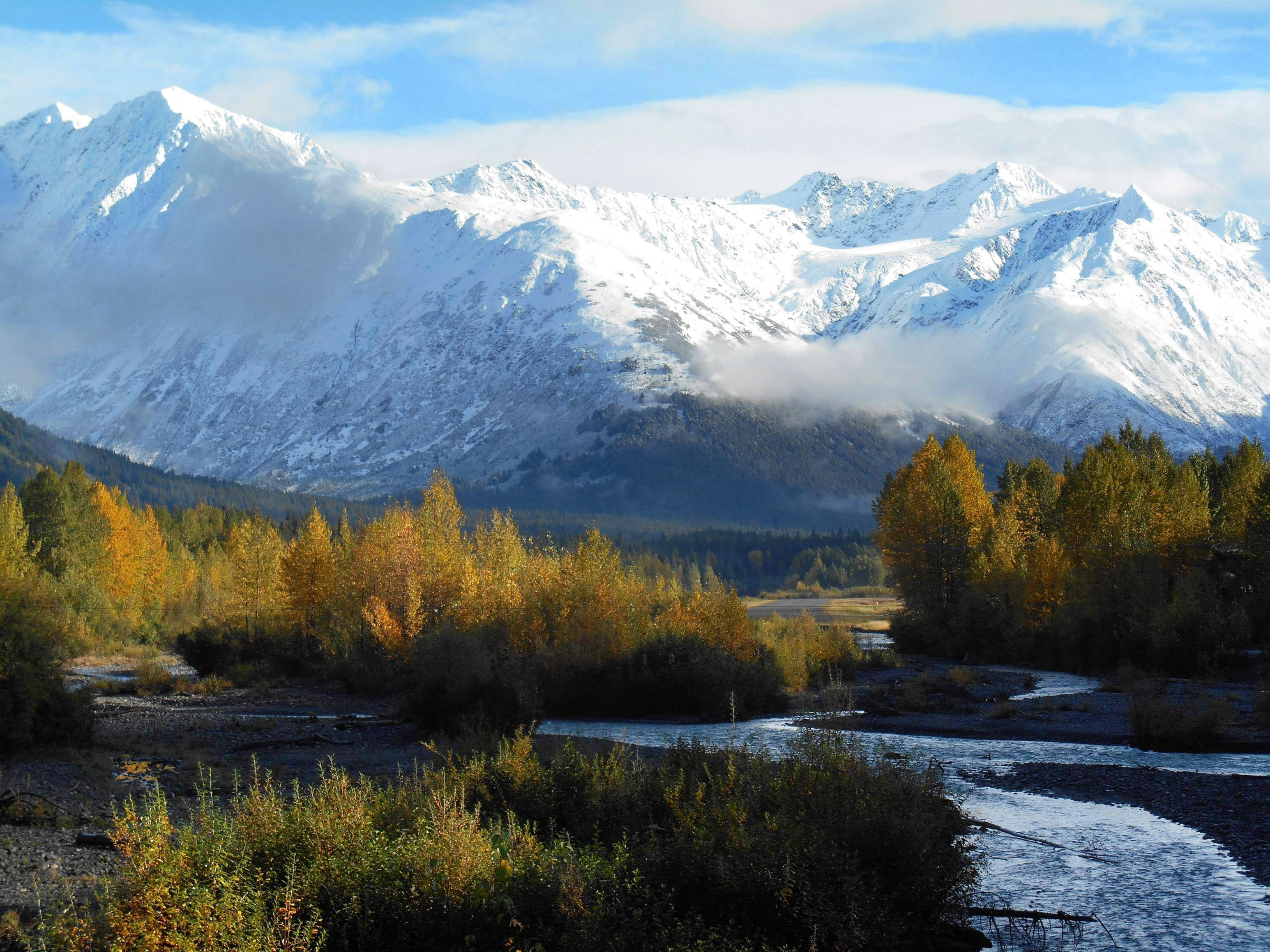 Fall at Mount Alyeska resort outside Anchorage in Alaska on Sept. 18.
