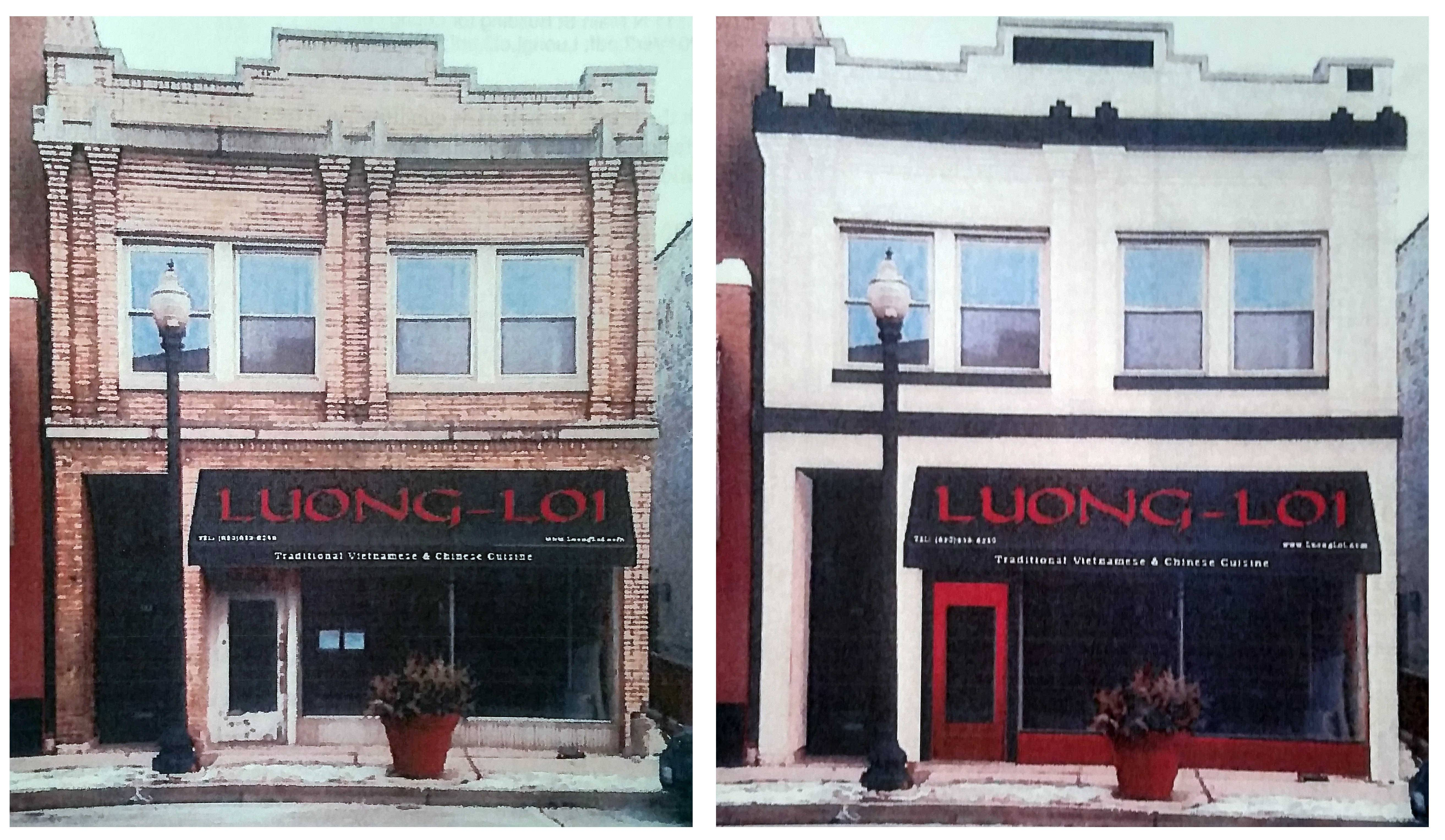 Wheaton council votes 5-2 to allow paint on old building facade