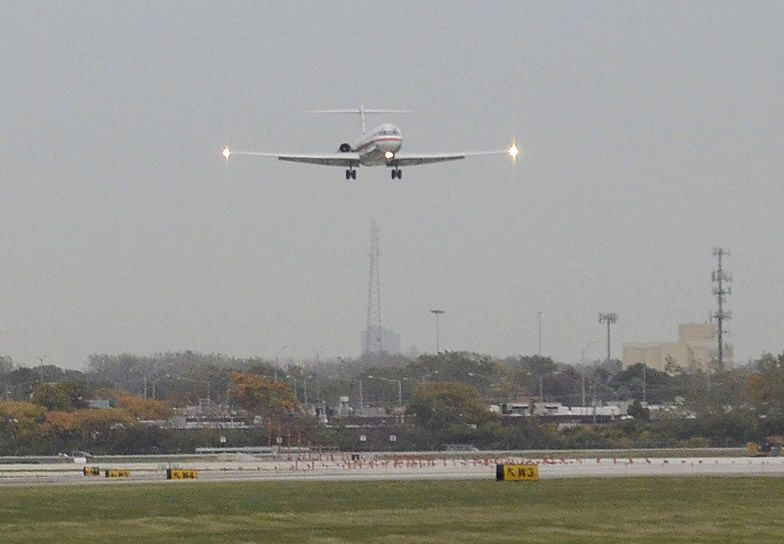 Plane noise overnight is making life unbearable in some suburban neighborhoods, residents said Monday.