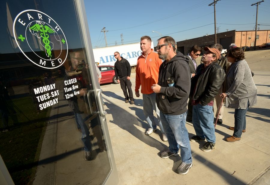 Medical marijuana dispensaries opened in Addison and other suburbs last week. Some fear a new, more positive perception of marijuana may spur increased illegal use.