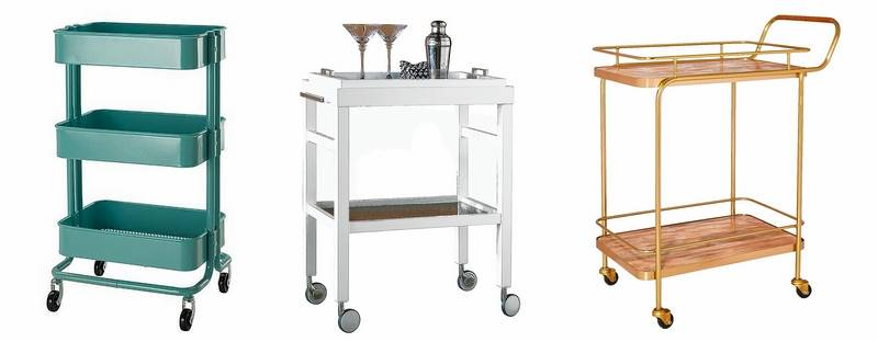 Bar Carts Let The Good Times Roll