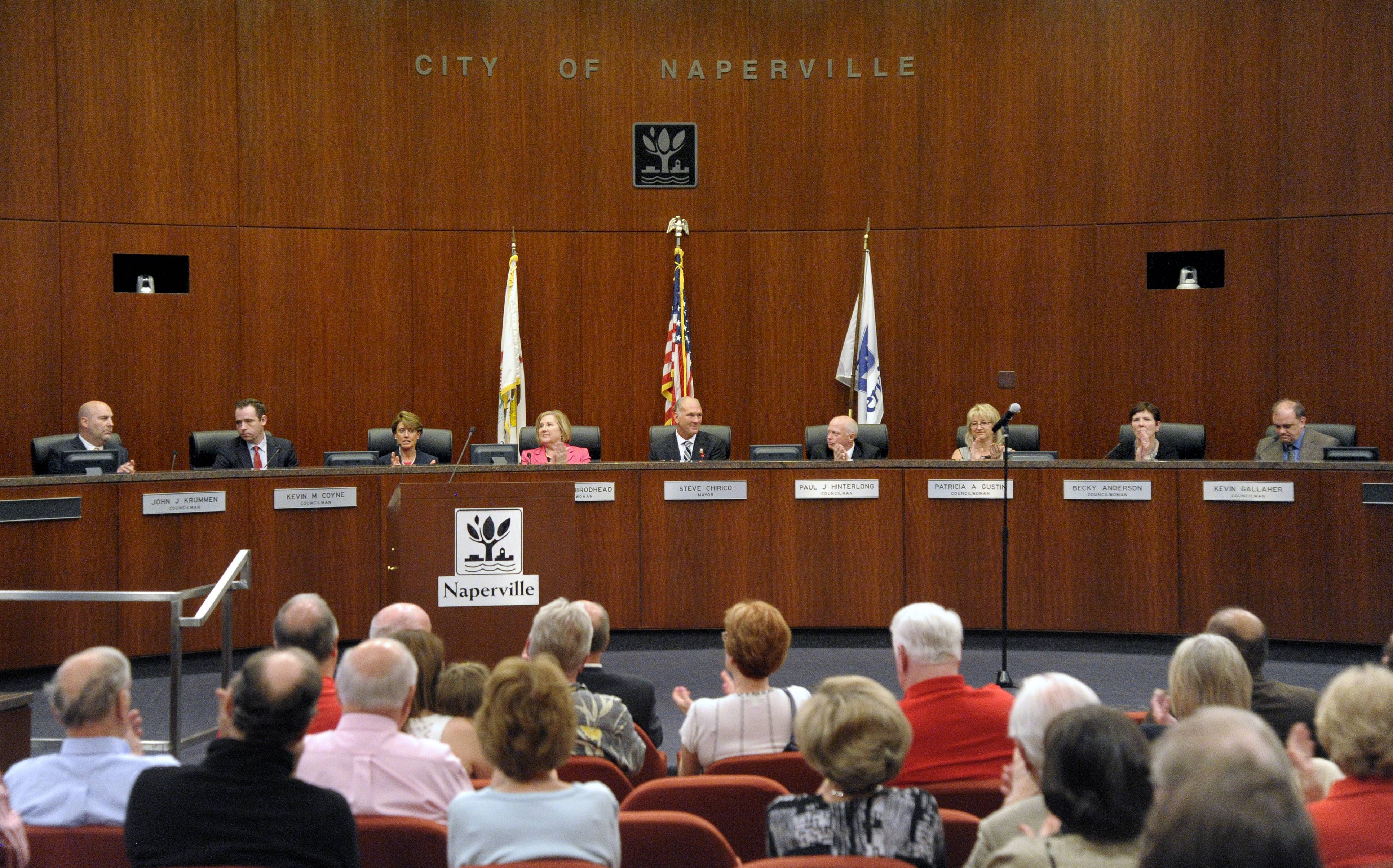 Health benefits on the way out ­-- gradually -- for Naperville council