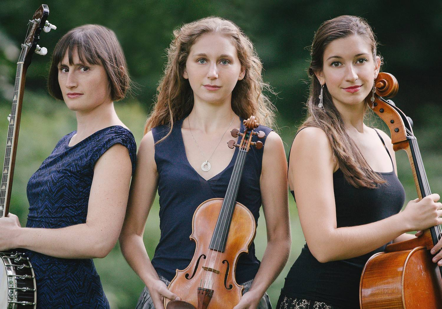 The musical trio Harpeth Rising headlines at the Maple Street Chapel.