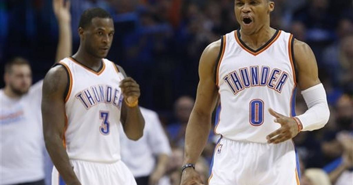 best service 040ca f4ec9 Westbrook carries Thunder past injury-depleted Pelicans