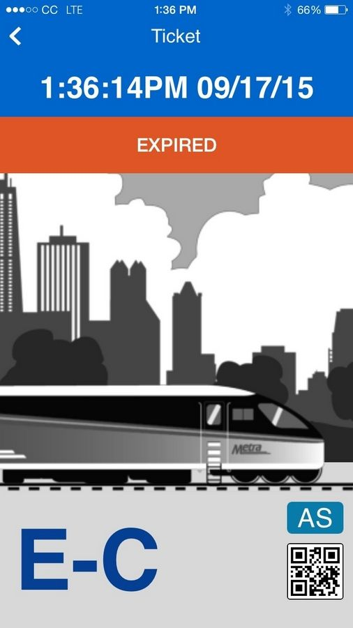 Metra's new Ventra app debuted on Thursday.