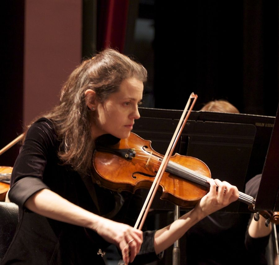 Violin soloist Isabella Lippi performs with the Elgin Symphony Orchestra at the Hemmens Cultural Center in Elgin on Saturday and Sunday, Nov. 21-22.