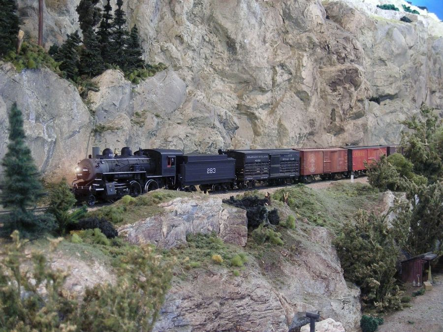 See an HO scale operating model railroad at the Lake County Model Railroad Club's Open House.