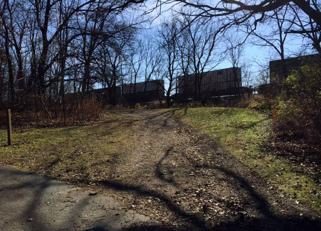 The village of Elburn is looking for a spot for a pedestrian overpass, east of the train station, to connect Elburn Forest Preserve to Johnson's Mound.
