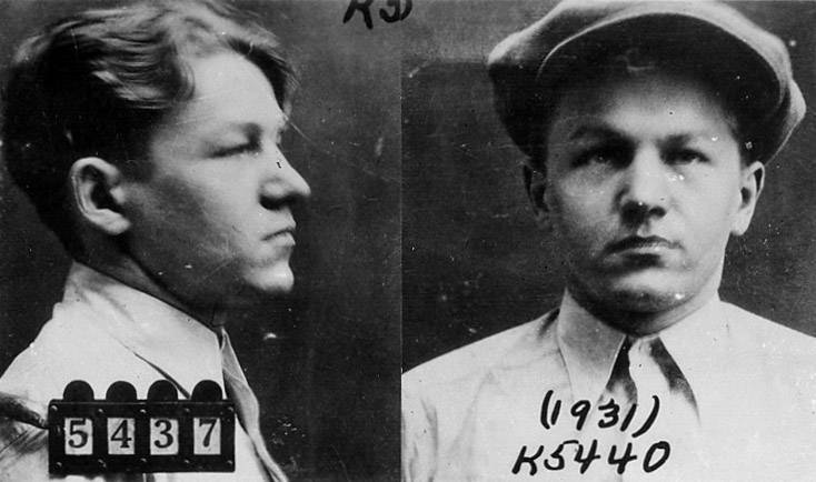 """Baby Face Nelson"" was born Lester M. Gillis on December 6, 1908, in Chicago. He died in 1934 after the Battle of Barrington shootout with FBI agents."