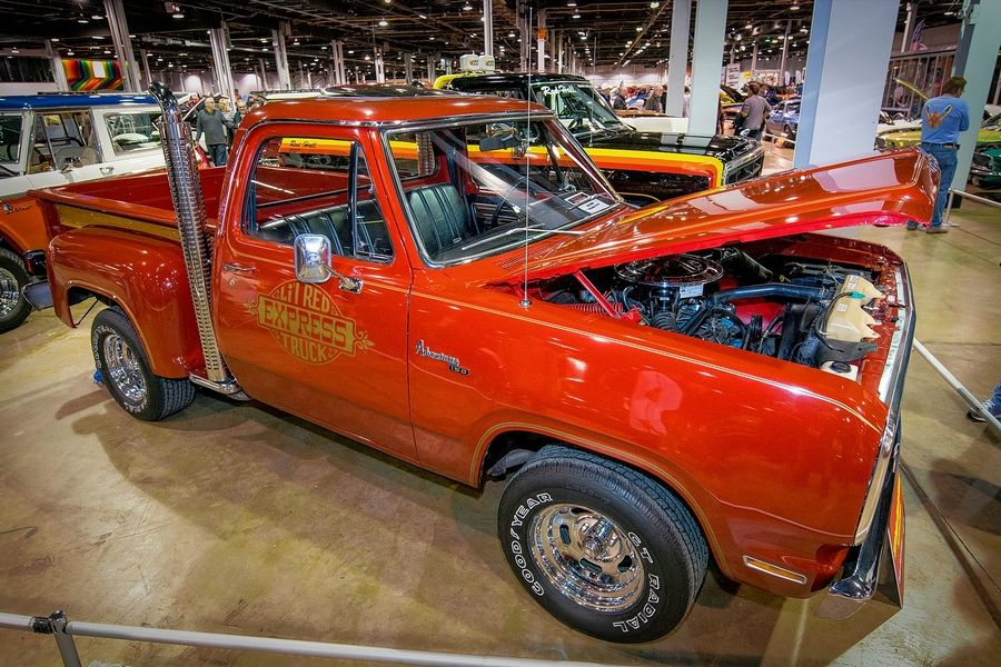 1979 Dodge Li'l Red Express, Mark Coates, Blountville, TN