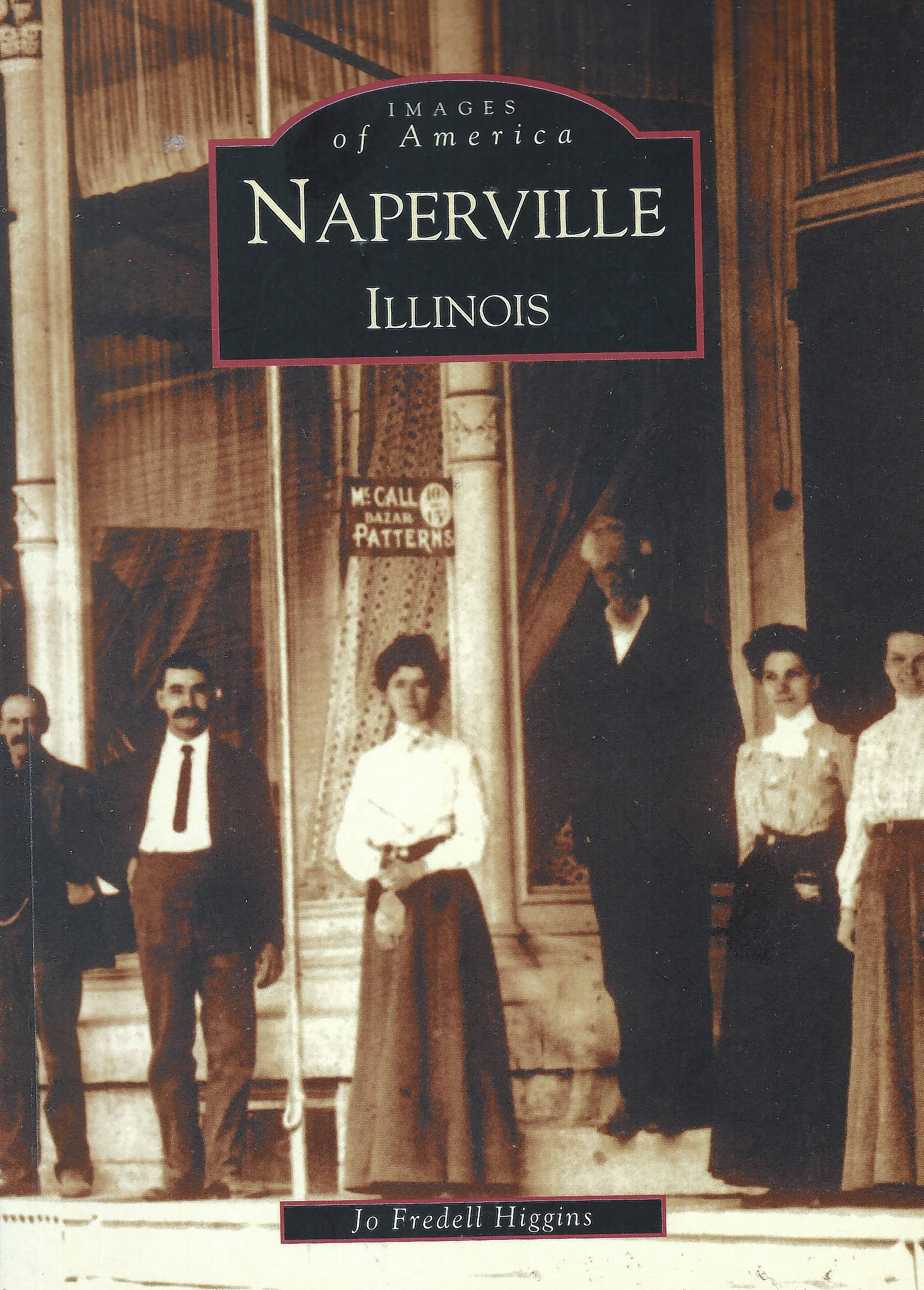 "Author Jo Fredell Higgins is working on an update to her ""Naperville, Illinois"" book in the Images of America series."