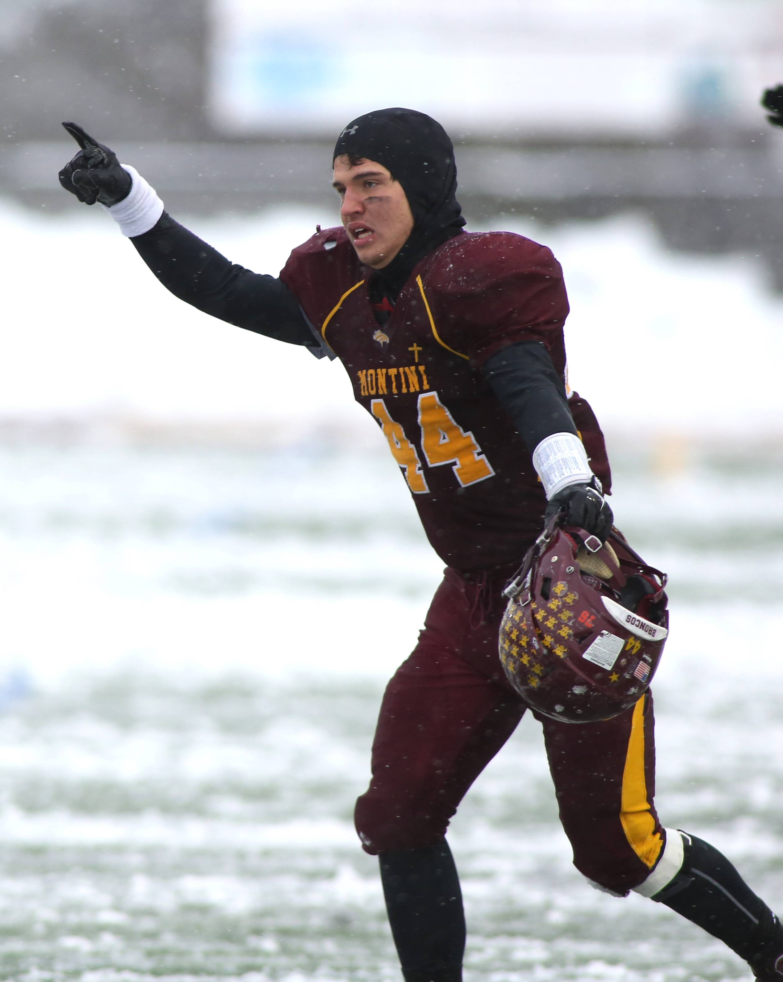 Montini will meet Crete-Monee in the Class 6A football championship game at 1 p.m. Saturday in DeKalb.
