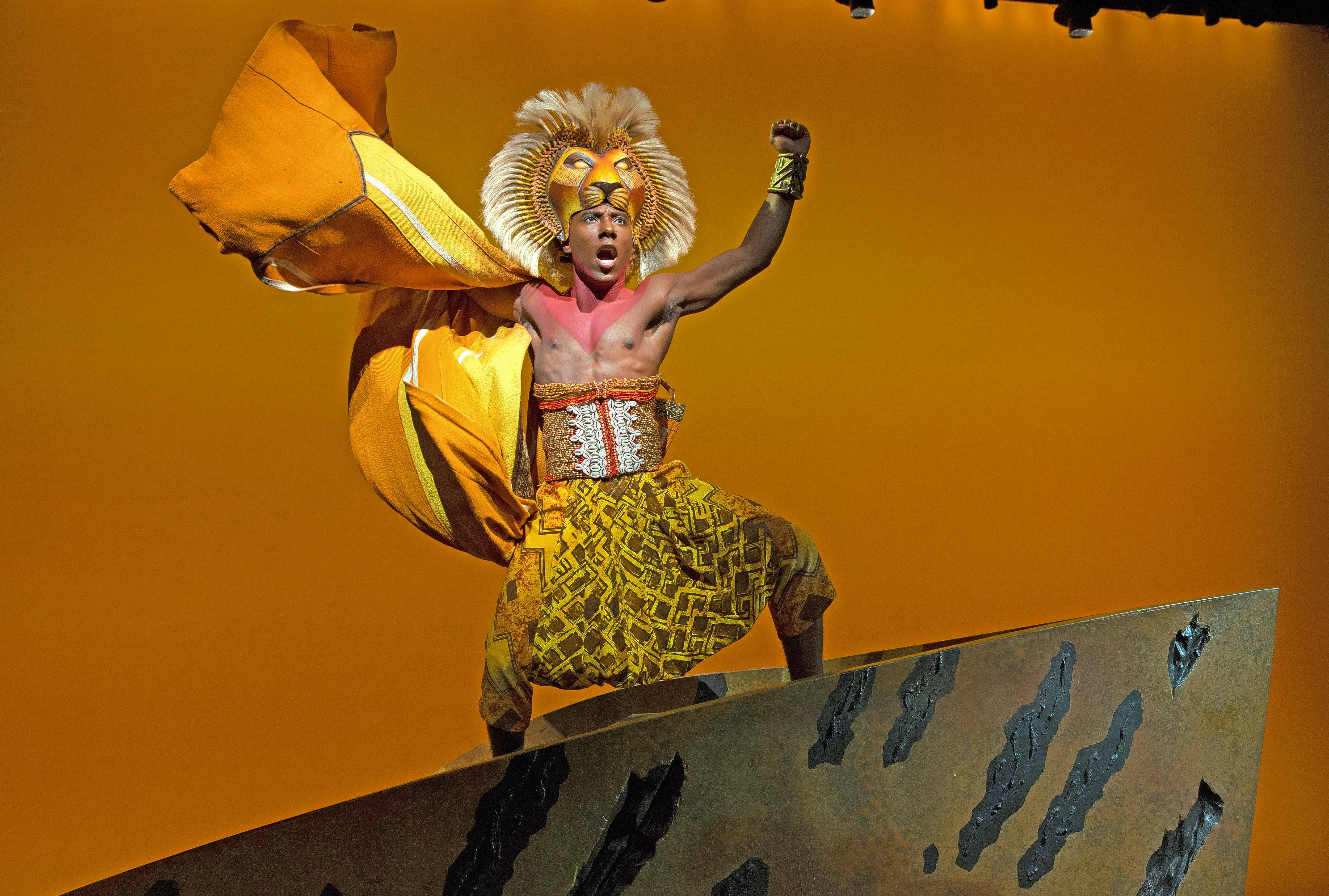 "Chicago native Aaron Nelson stars as Simba in the national tour of Disney's ""The Lion King."" The 1997 Broadway musical smash returns to Chicago for a run at the Cadillac Palace Theatre from Wednesday, Dec. 2, through Sunday, Jan. 17."