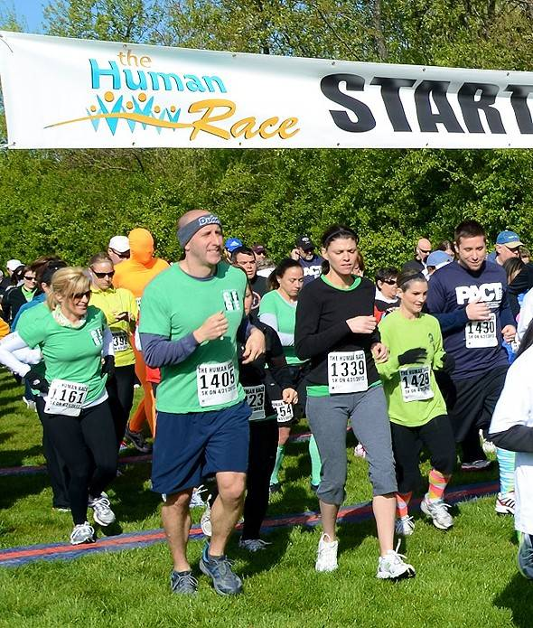 The Human Race, organized by Giving DuPage, benefits more than 60 charities each April.