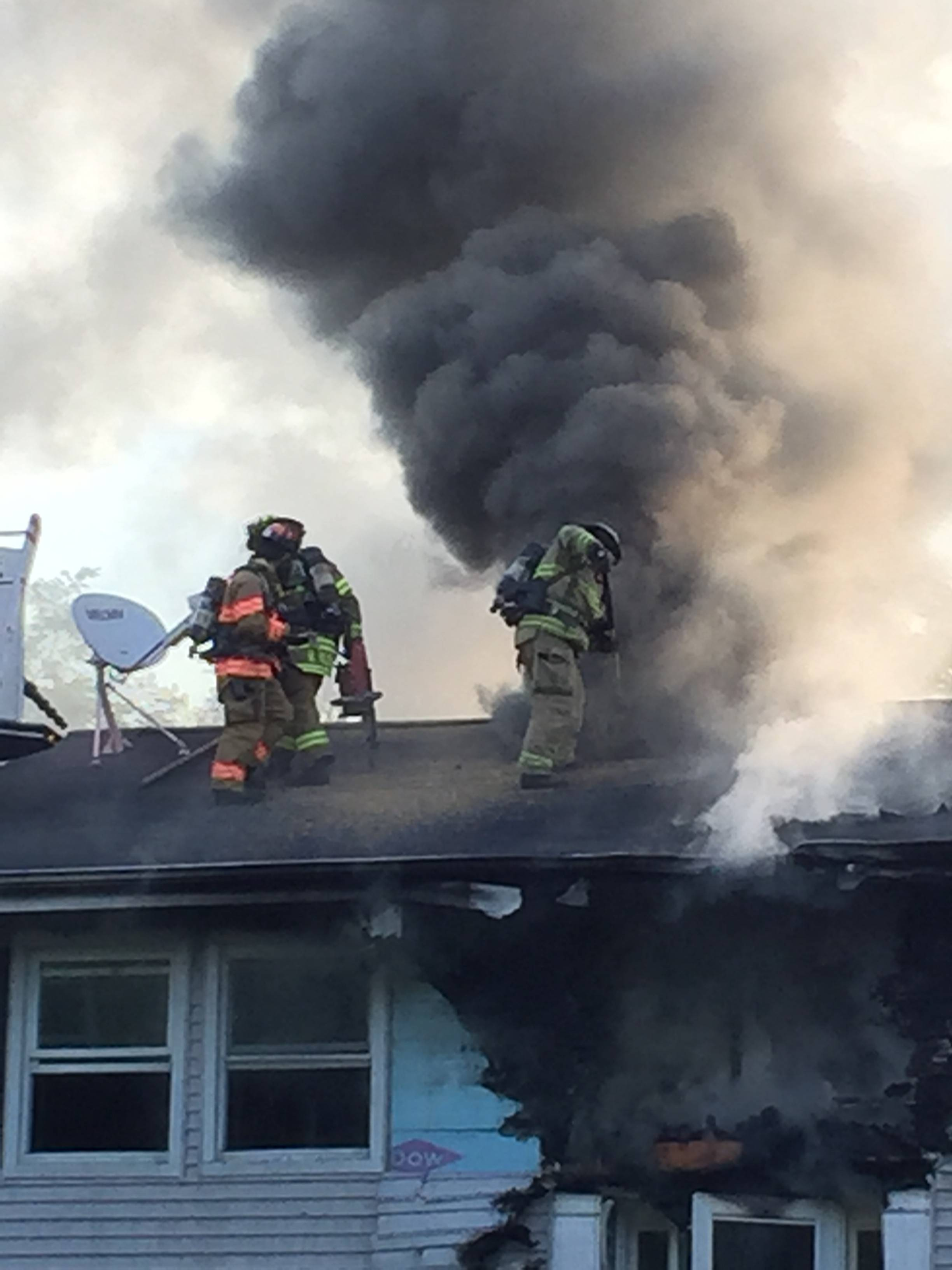 Once a common firefighting tactic, extinguishing residential fires from rooftops can be more dangerous for firefighters, studies now suggest.