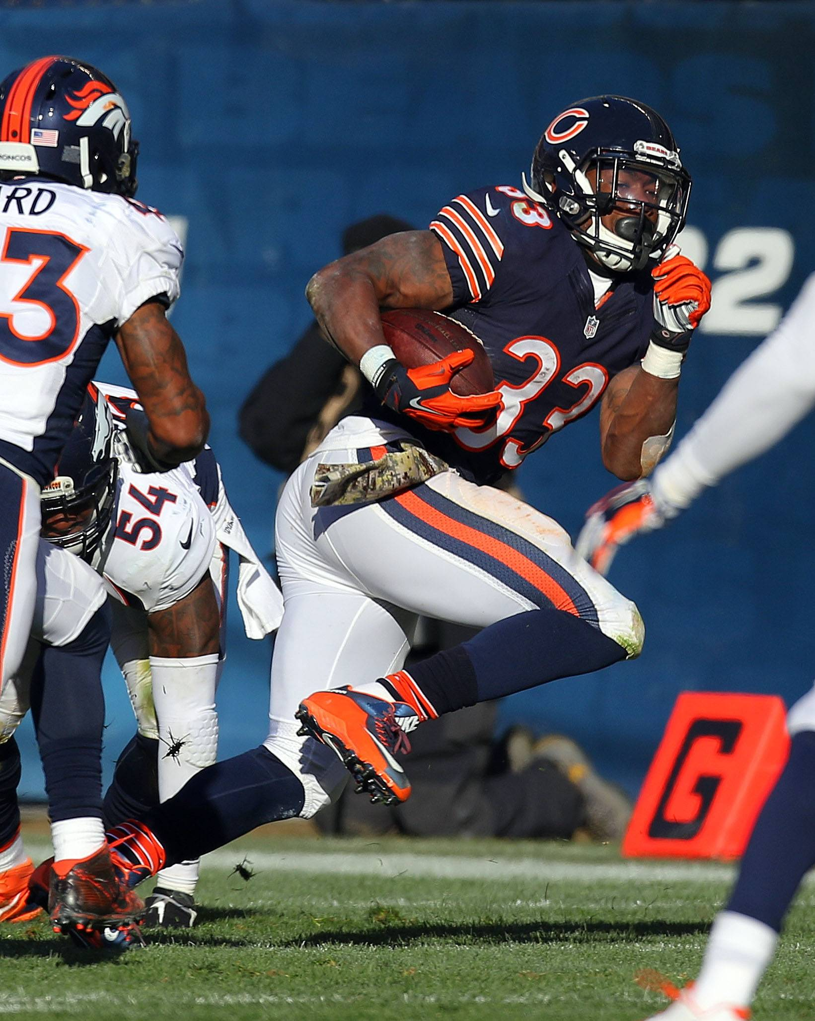 Fox keeps narrow focus for Chicago Bears