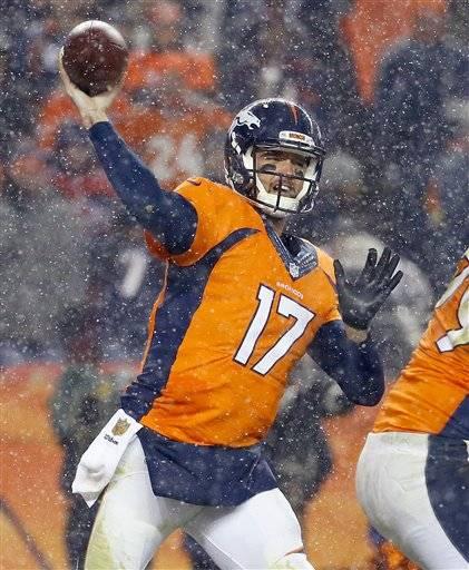 Men's Denver Broncos Brock Osweiler Pro Line Big & Tall Team Color ...