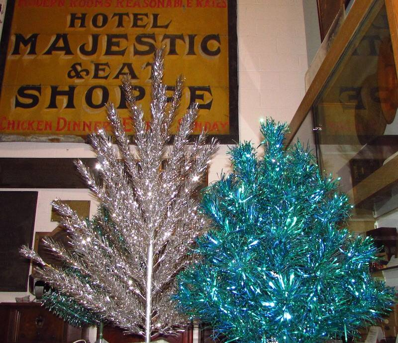 About 70 Aluminum Trees, Manufactured Between 1958 And 1969, Will Be On  Display At
