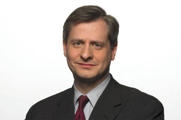 "Pulitzer Prize-winning author Jon Meacham discusses his new biography of George H.W. Bush, ""Destiny and Power,"" Friday at North Central College in Naperville."