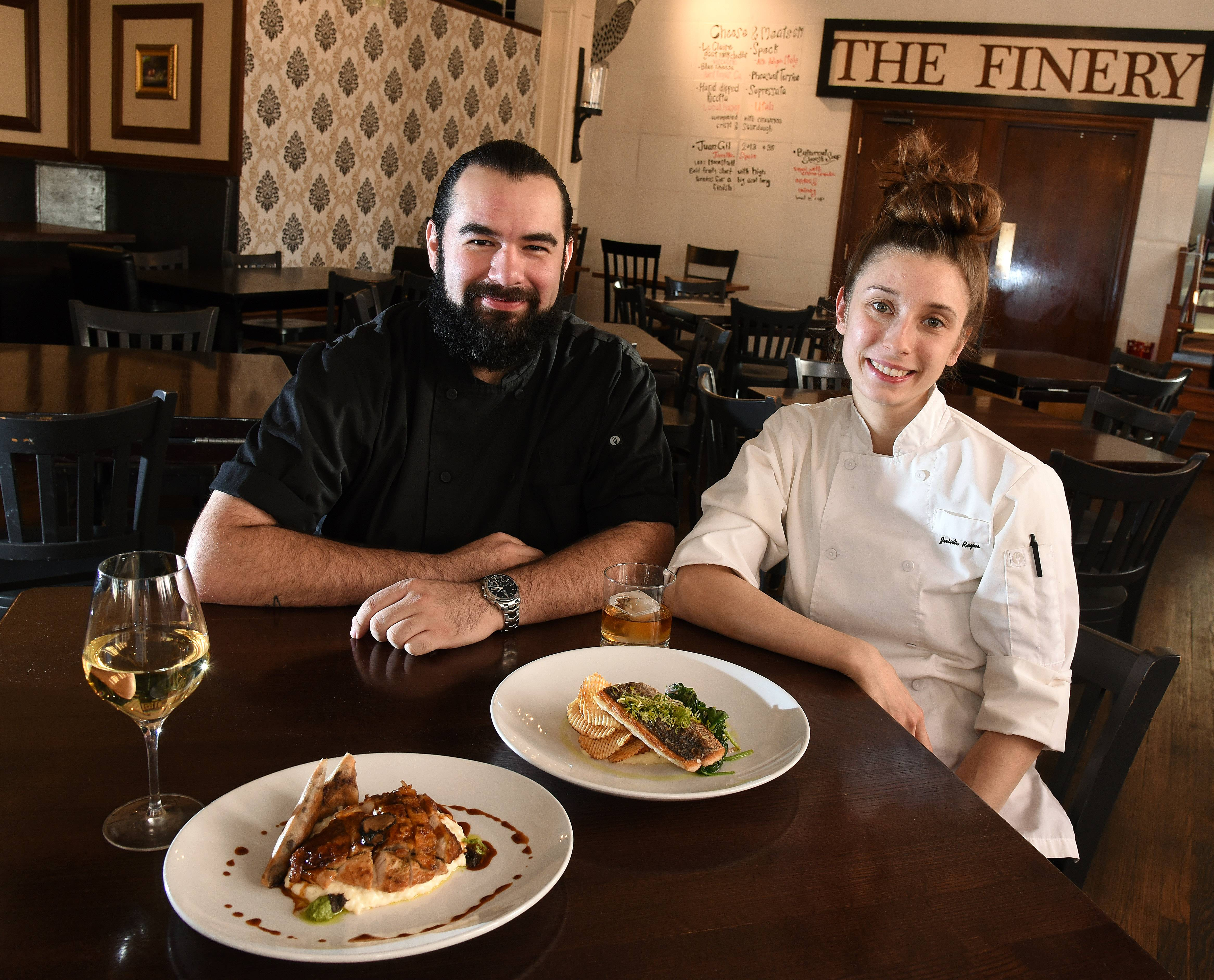 David and Juliette Reyes, owners of The Finery & Blacksmith Bar in St. Charles, pride themselves on their restaurant's farm-to-table concept.
