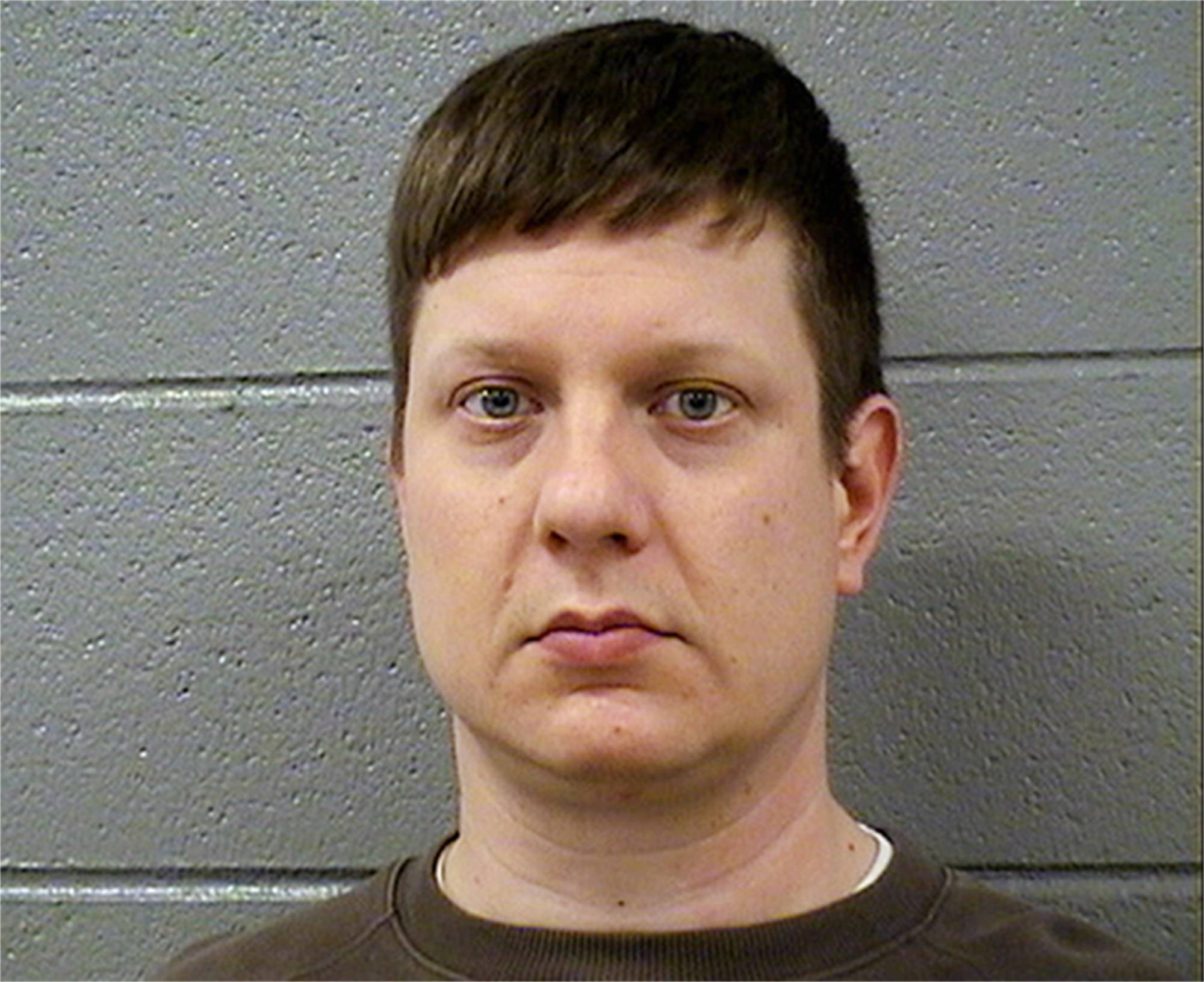 Chicago police Officer Jason Van Dyke, who was charged with first degree murder after a squad car video caught him fatally shooting 17-year-old Laquan McDonald 16 times. Van Dyke is scheduled to return to court Monday, Nov. 30, 2015, to learn whether he'll be offered bond.