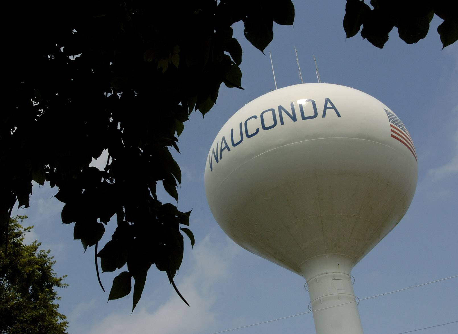 Wauconda High School's student email system was temporarily shut down Tuesday after someone sent an inappropriate photograph.
