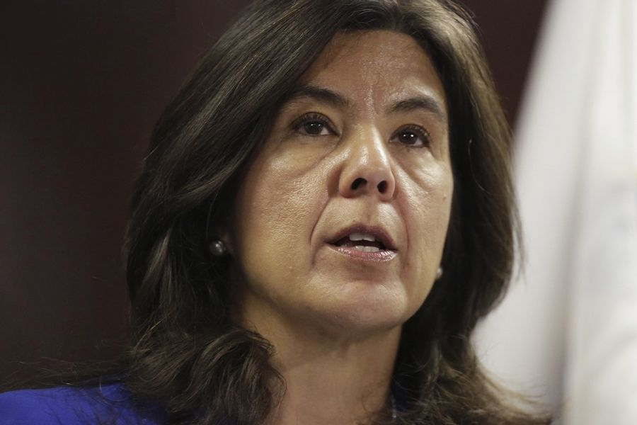 AT DAILY HERALD.COM/MORE: Cook County State's Attorney Anita Alvarez again on Thursday emphasized that she will not resign from her position in light of the Laquan McDonald police shooting.