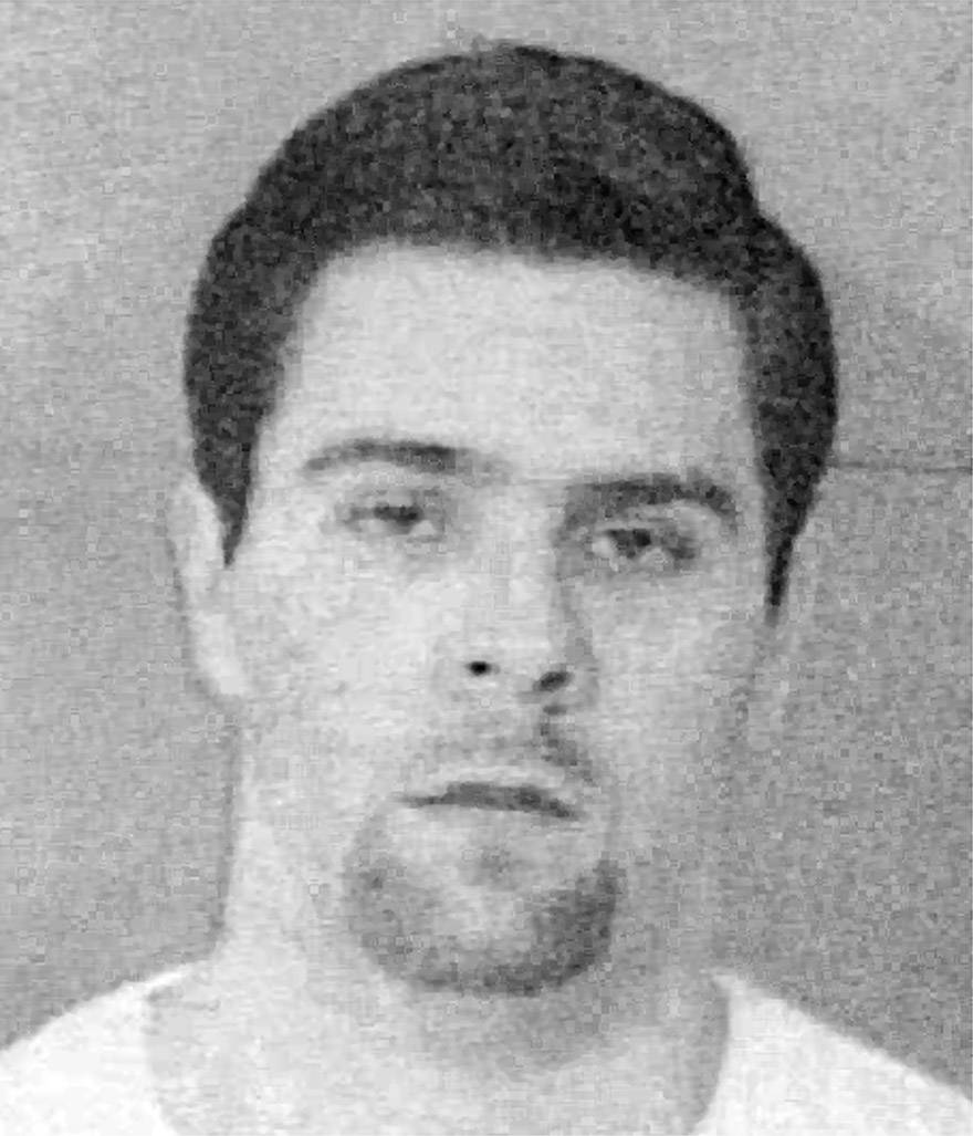 Eric Robles, of Bartlett, serving life sentences for the 1993 stabbing deaths of his parents Peter and Diana, in an undated photograph.