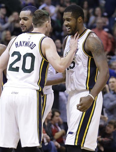 Favors Scores 35 As Jazz Beat Pacers 122 119 In Ot