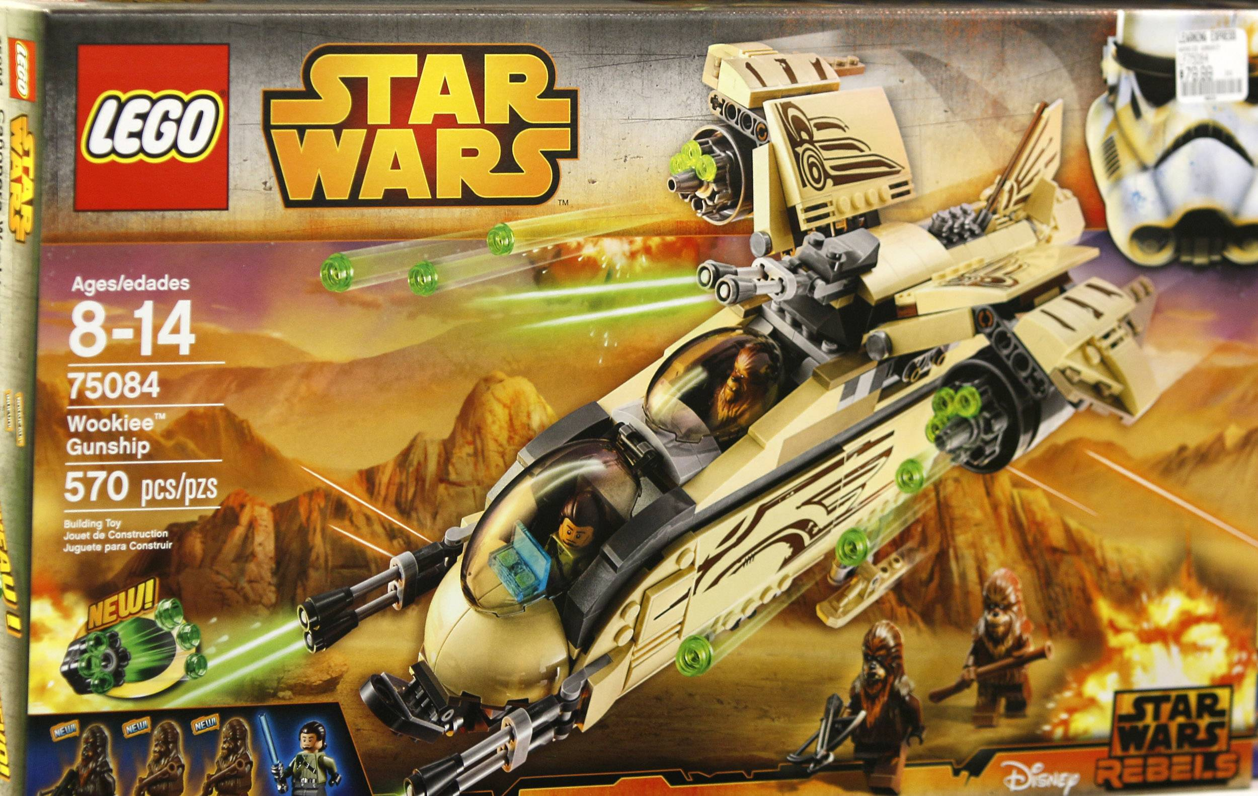 Star Wars Lego toys are selling at the Learning Express Store in Naperville.