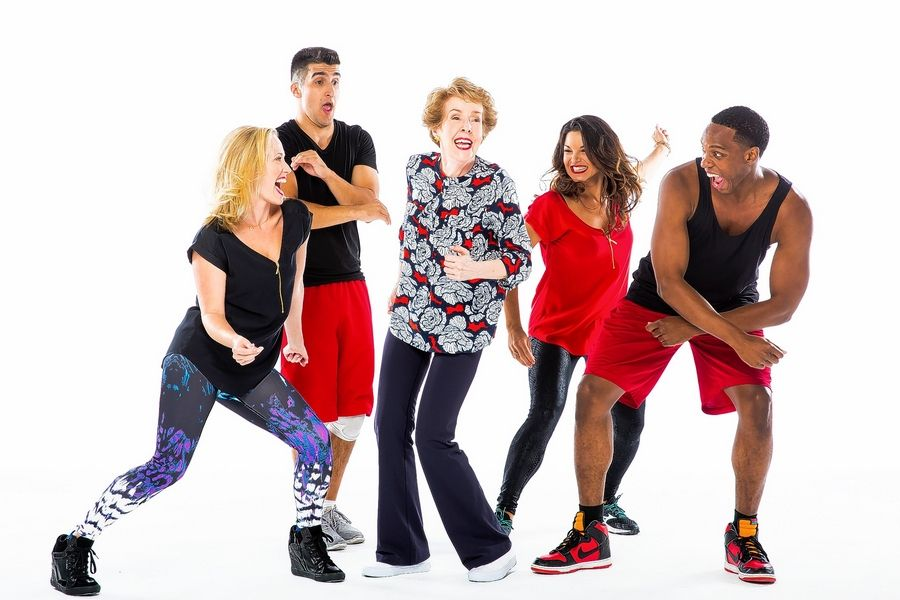 "Haven Burton, Alexander Aguilar, Georgia Engel, Tracy Jai Edwards and Austin Scott III star in the world premiere of ""Gotta Dance"" at the Bank of America Theatre in Chicago from Sunday, Dec. 13, through Sunday, Jan. 17."