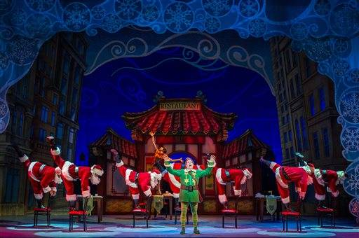 Musical 39 Elf 39 Returns To New York Led By Eric Petersen