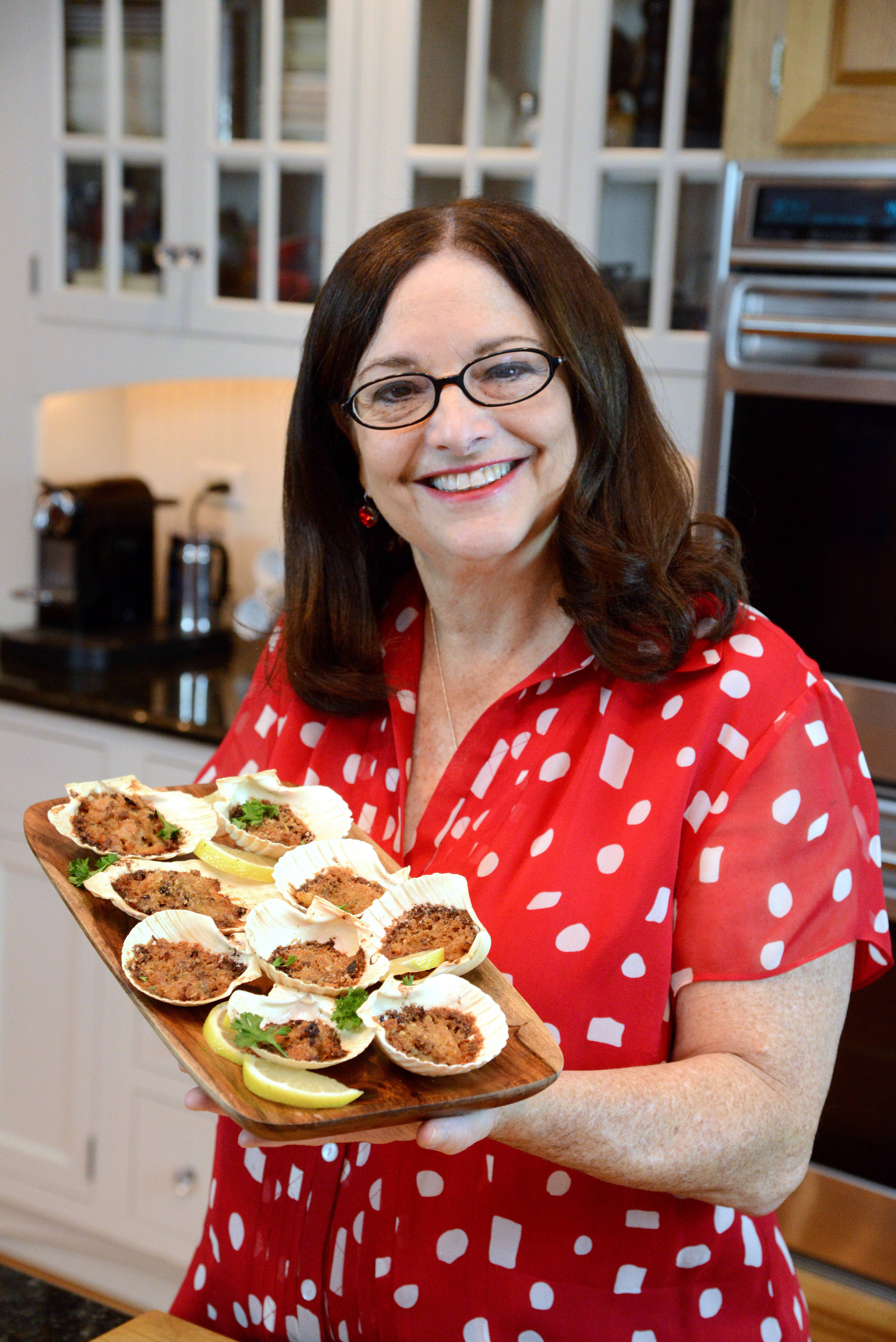 Cara Kretz of North Barrington often serves her Baked Clams Italian Style for holiday feasts.