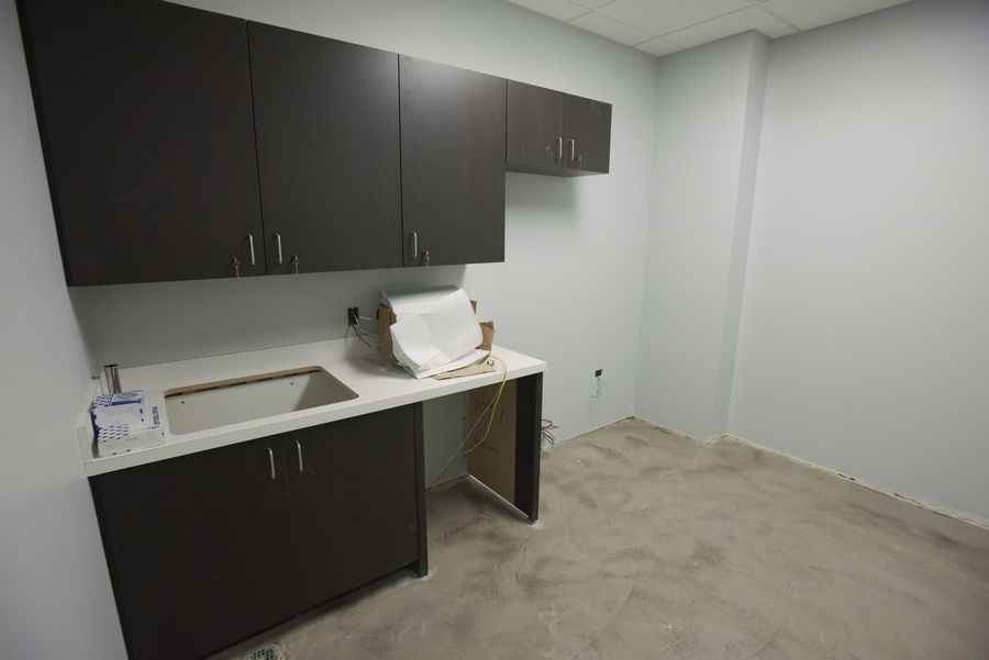 High school-aged students will practice life skills in a mock apartment at the new Soaring Eagle Academy building in Lombard. The school is moving next month from its original location in Burr Ridge to 800 Parkview Blvd. in Lombard.