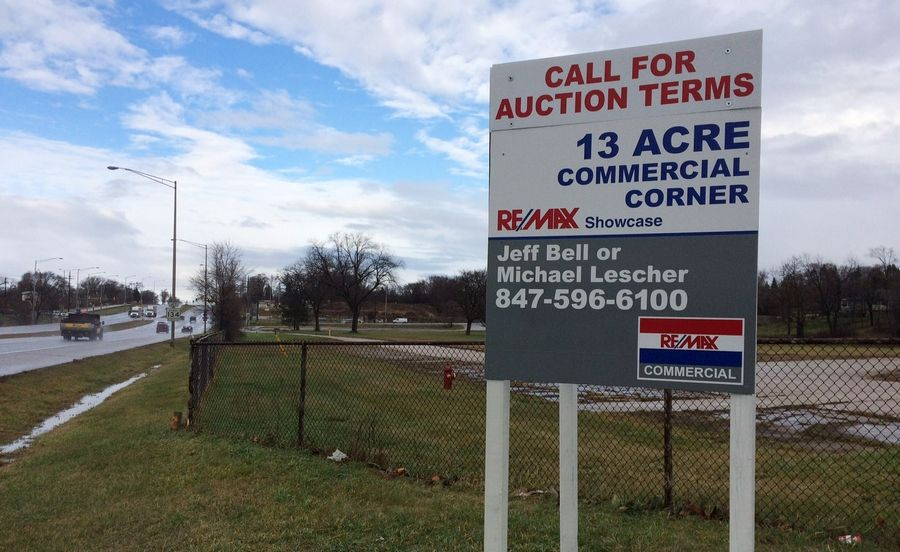 Big Hollow Elementary District 38 is cautiously optimistic about the most recent bid of $3.6 million for property it owns along Route 12 at Route 134 in Fox Lake.
