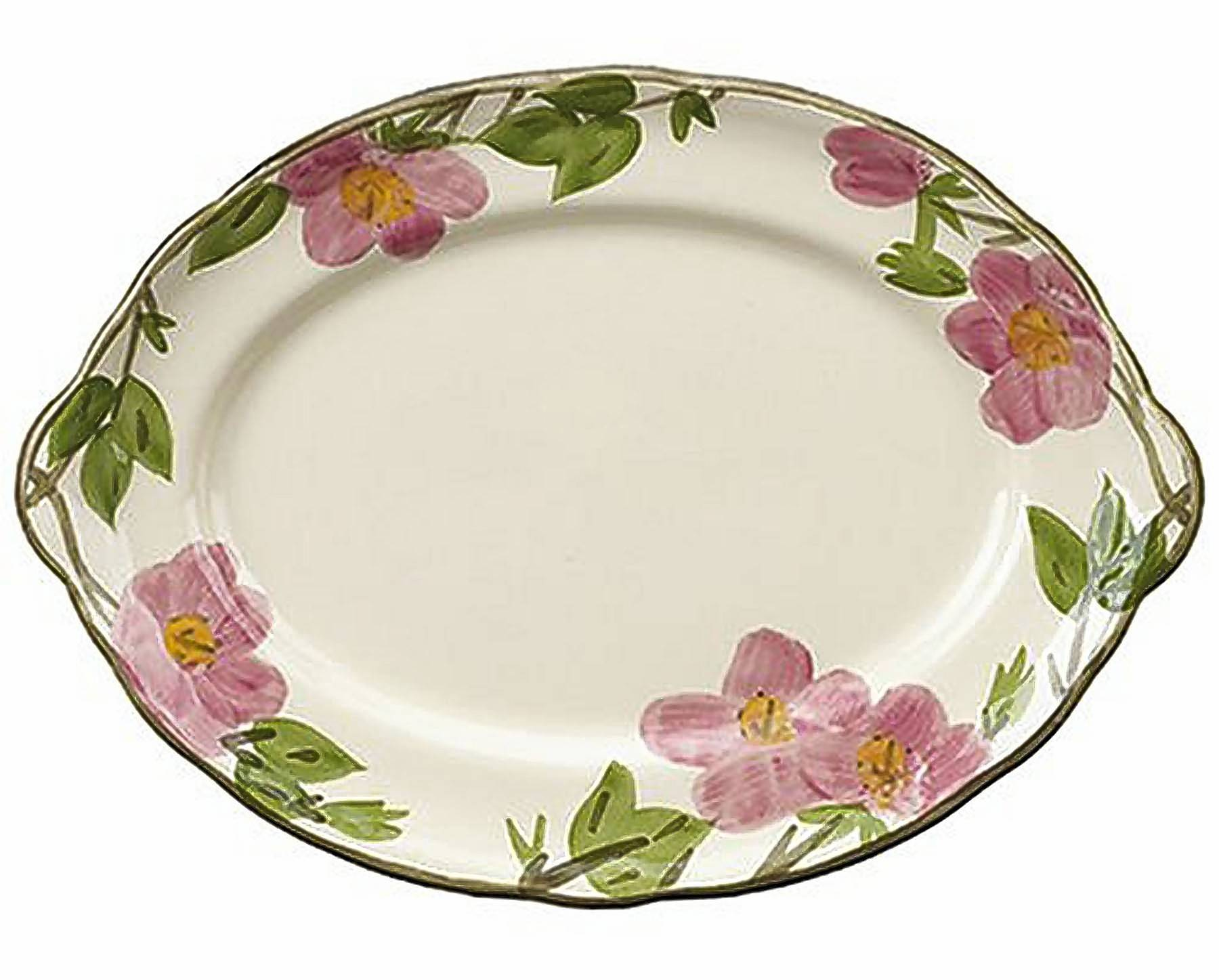 The Franciscan brand continues to produce ceramics with its popular \ Desert Rose\  pattern today  sc 1 st  Daily Herald & Earthenware dinner set design inspired by desert flowers