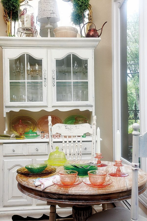Depression glass is still as popular as ever as a collectible, though prices vary widely. The pretty colors and cut-glass patterns are hallmarks of Depression glass. The most popular colors are green, pink, yellow and amber.