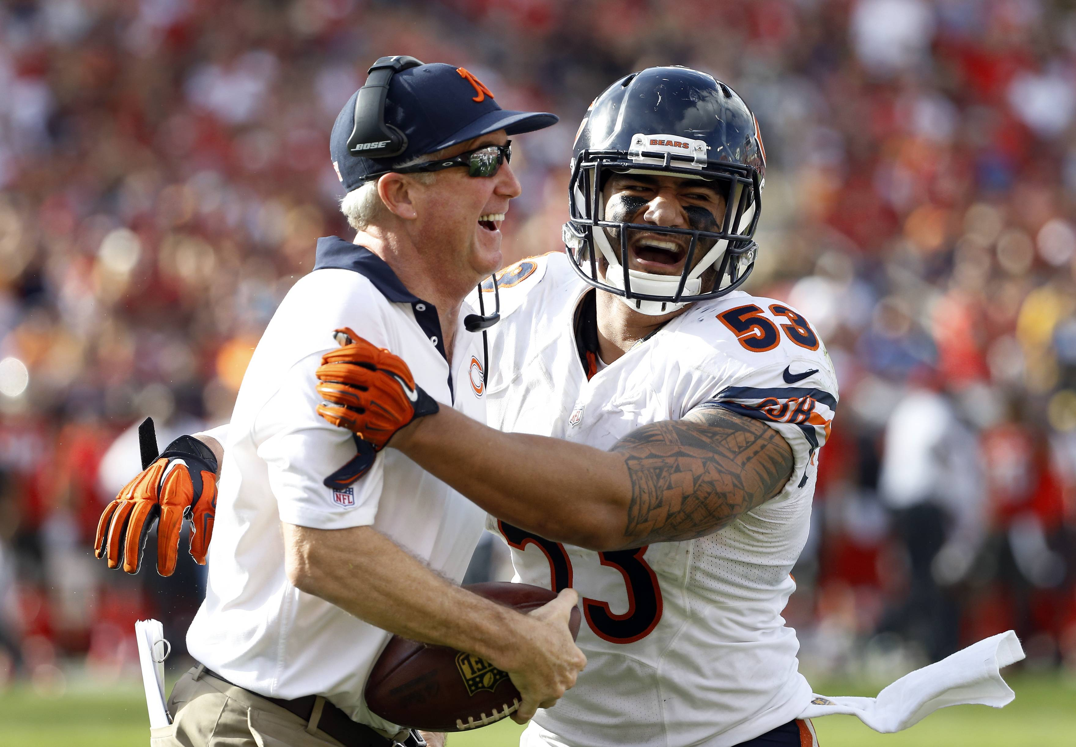 Images: The Bears defeat the Buccaneers 26-21