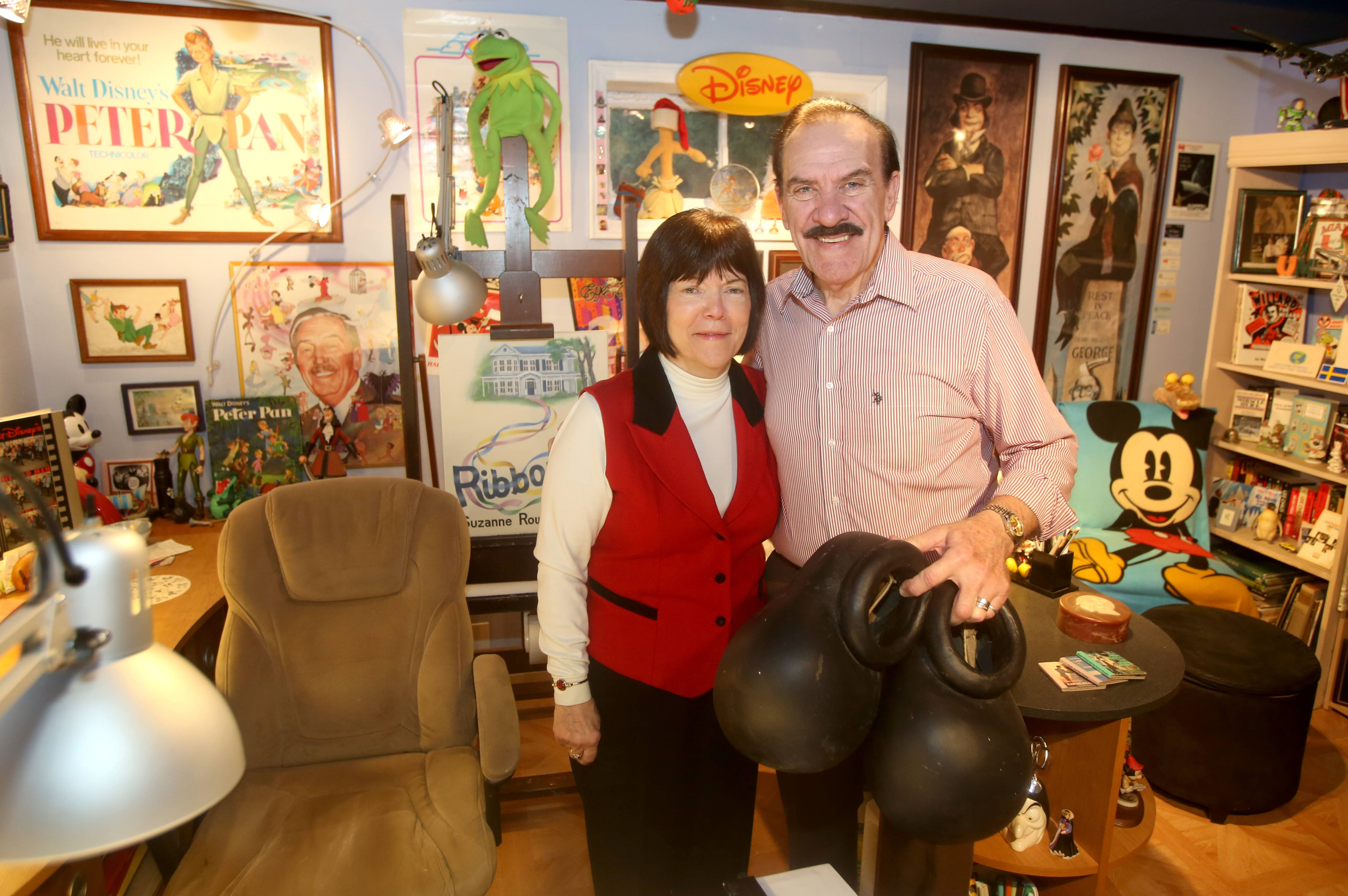"Suzanne Ogren and her husband RJ worked at Walt Disney World in its early days, Suzanne as a monorail pilot, then Sleepy the Dwarf and later in entertainment management, and RJ as an artist. Now they live in Naperville and they've written a book called ""Together in the Dream"" about their Disney experiences."