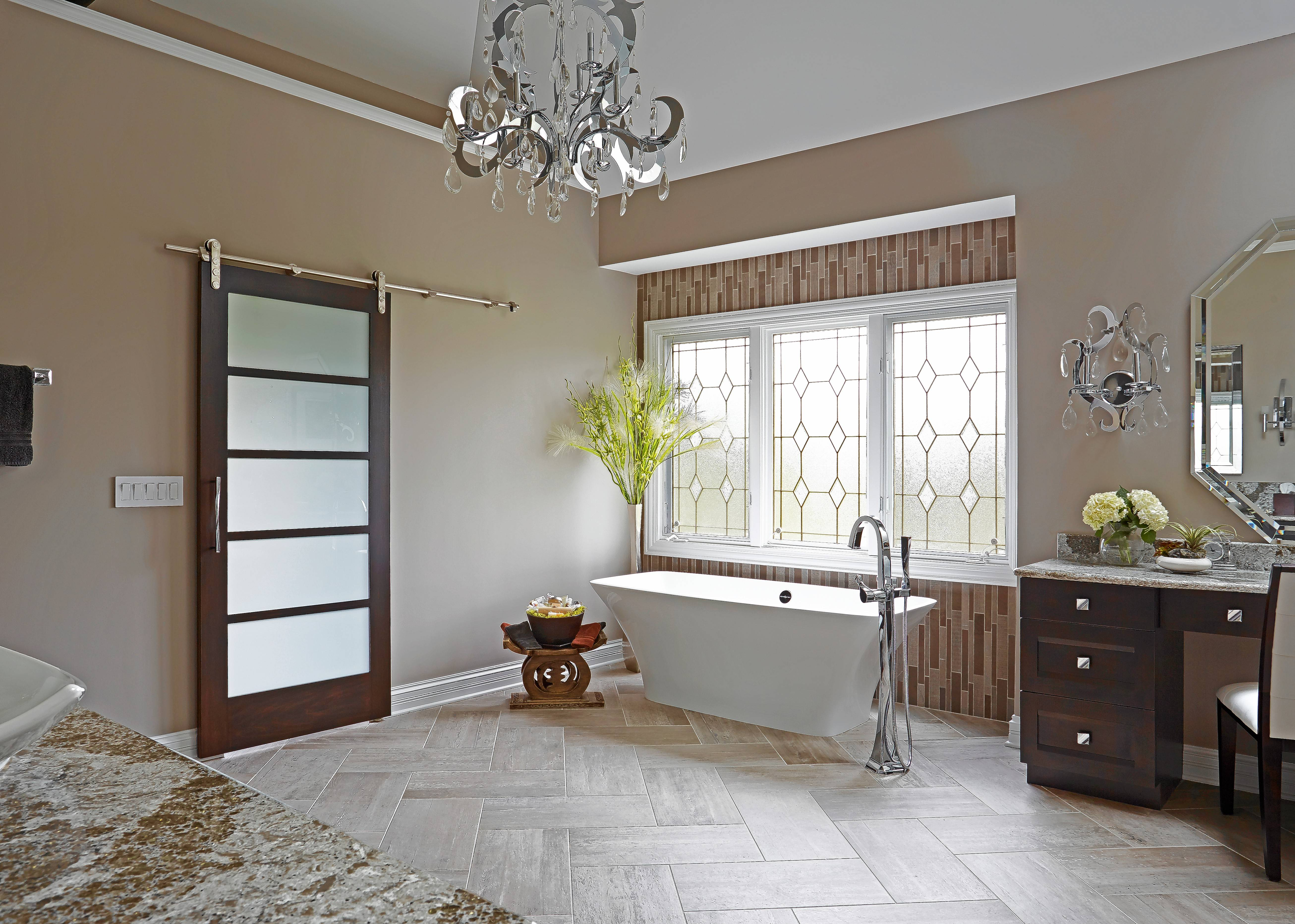 Elegant This Asian Inspired Master Bath Suite Was Designed By Insignia Kitchen And  Bath For Bill