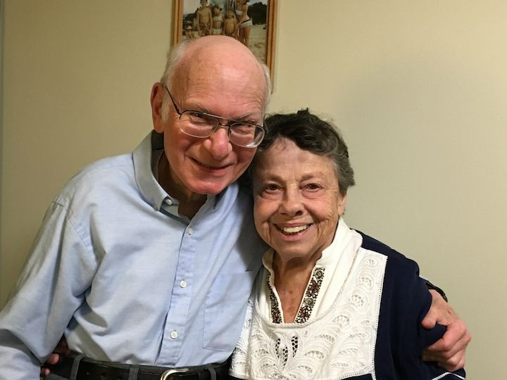 Shelly Appleton, a resident at Monarch Landing, can live near his wife, Betty, who lives in assisted memory support at The Springs at Monarch Landing.
