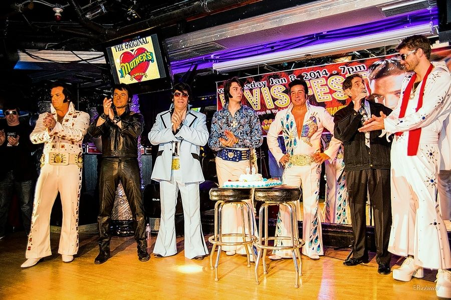 Elvis Fest takes over The Original Mother's in Chicago on Thursday, Jan. 7.