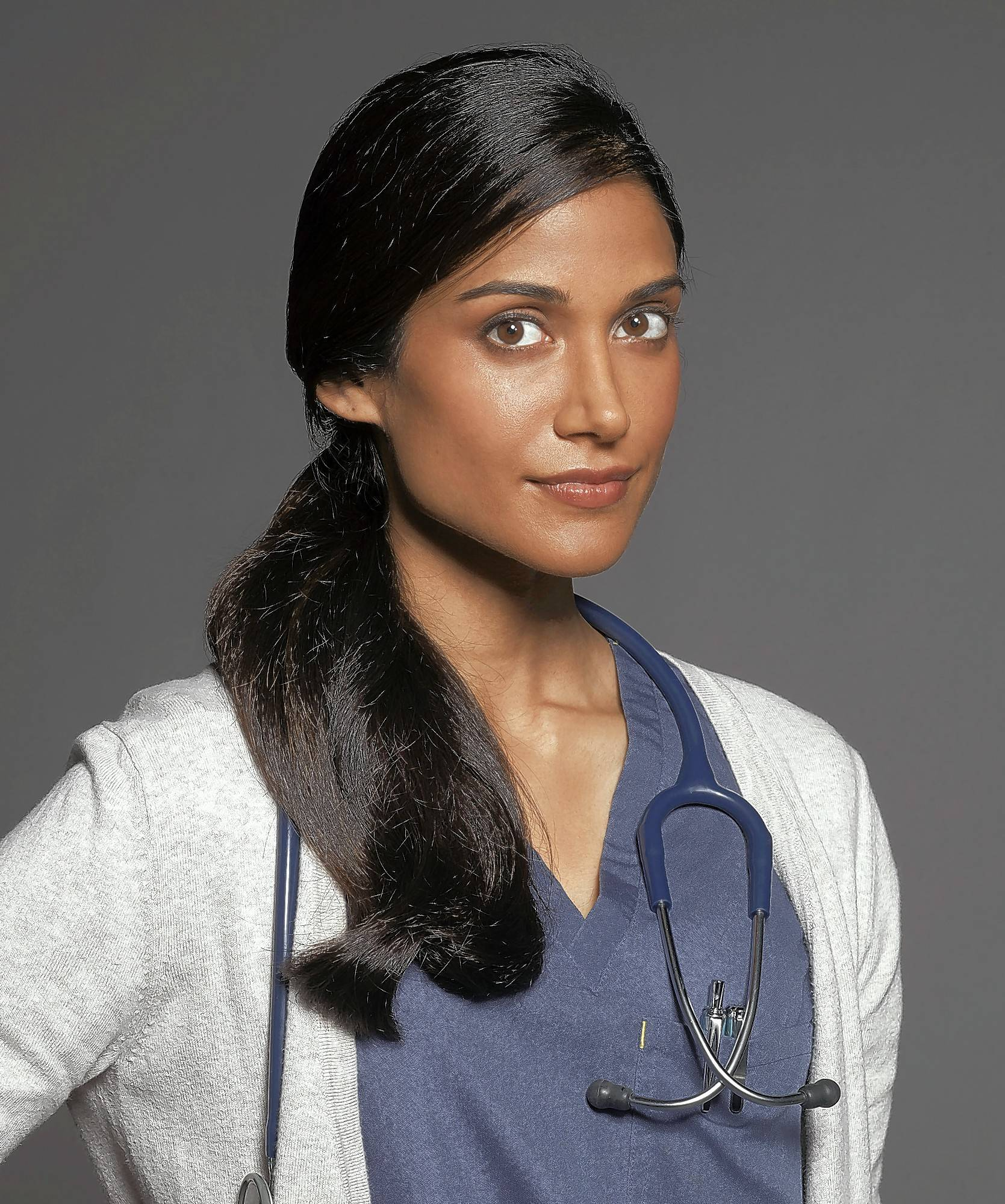 "Buffalo Grove native Melanie Chandra stars as Dr. Malaya Pineda, a first-year resident at a Los Angeles hospital in the CBS TV series ""Code Black."""